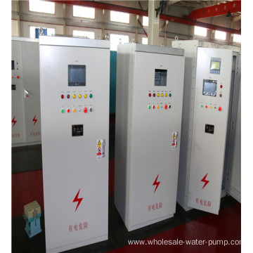 Electric control cabinet for submersible pump unit